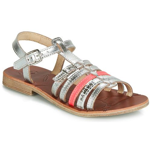 Shoes Girl Sandals GBB BANGKOK Silver