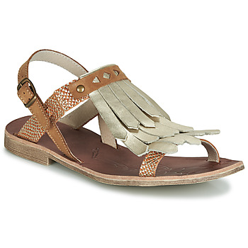 Shoes Girl Sandals GBB ACARO Brown / Gold