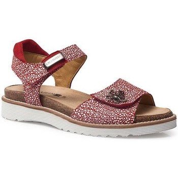 Shoes Women Sandals Calzamedi SANDALS  EURIA RED
