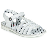 Shoes Girl Sandals Catimini MUNDA White