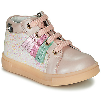 Shoes Girl Hi top trainers Catimini BRITA Pink
