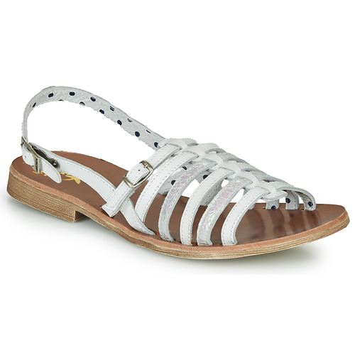 Shoes Girl Sandals Catimini NOBO White