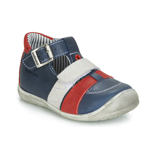 Shoes Boy Sandals Catimini TIMOR Marine / Red