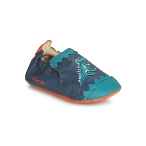 Shoes Boy Slippers Catimini CADANO Marine / Orange