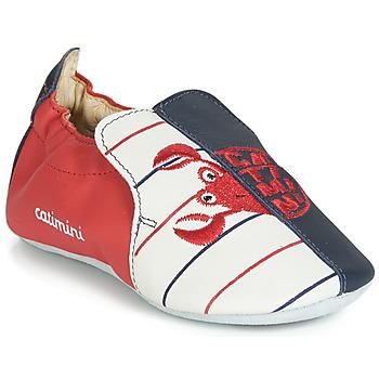 Shoes Boy Slippers Catimini CALURA Marine / Red