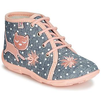 Shoes Girl Slippers GBB MERMIDA Grey / Pink