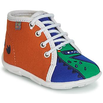 Shoes Boy Slippers GBB MARCCO Orange / Blue