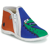 Shoes Boy Slippers GBB FERNANDO Orange / Blue