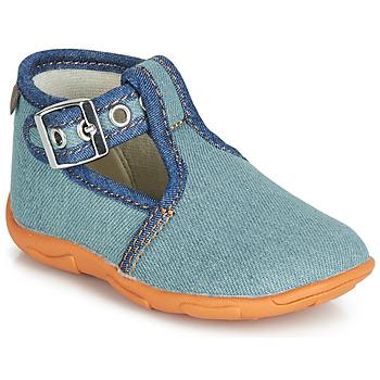 Shoes Boy Slippers GBB SAPPO Blue / Jean
