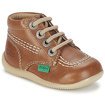 Kickers  BILLY  girlss Childrens Mid Boots in brown