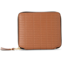 Bags Women Wallets Comme Des Garcons Comme Des Garçons Brick Line leather wallet Brown