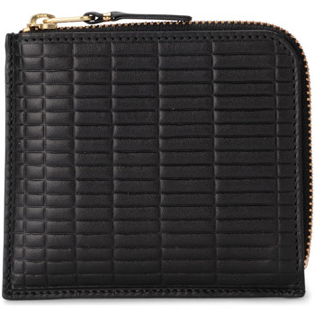 Bags Women Wallets Comme Des Garcons Comme Des Garçons Brick Line black leather wallet Black