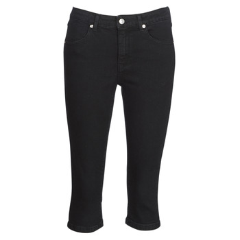 Clothing Women Cropped trousers Yurban JATARA Black