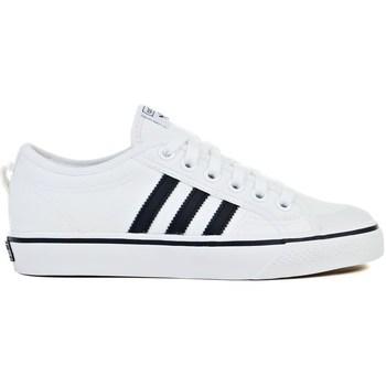 Shoes Men Low top trainers adidas Originals Nizza White