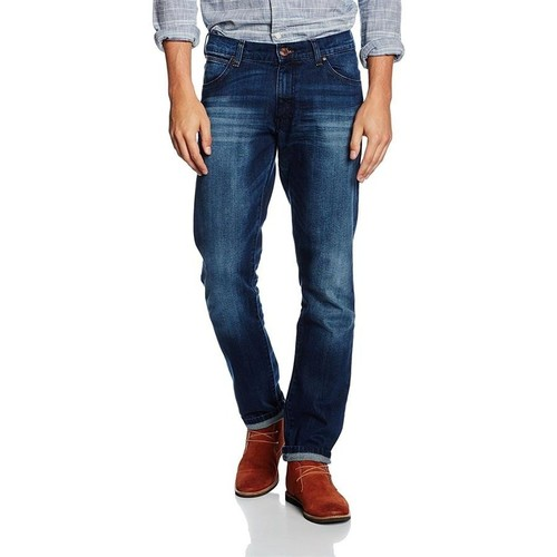 Clothing Men slim jeans Wrangler ® Larston Blaze 18S8282T blue