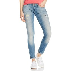 Clothing Women Skinny jeans Wrangler Jeans  Courtney Aloha  W23SC272L blue