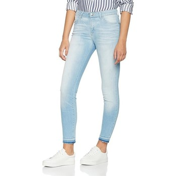 Clothing Women Skinny jeans Wrangler Skinny Sunkissed W28KLE86K blue