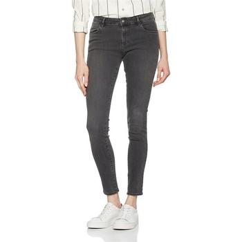 Clothing Women Skinny jeans Wrangler Skinny Ash W28KLX86O grey