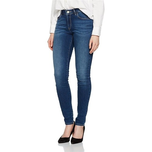 Clothing Women Skinny jeans Wrangler ® Skinny Authentic Blue 28KX785U blue