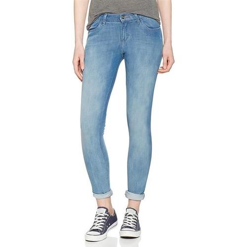 Clothing Men Skinny jeans Wrangler Super Skinny W29JPV86B blue