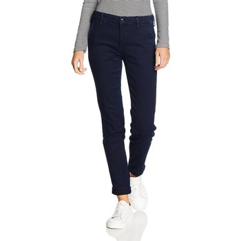 Clothing Women slim jeans Lee ® Chino Herringbone 310YKMF blue