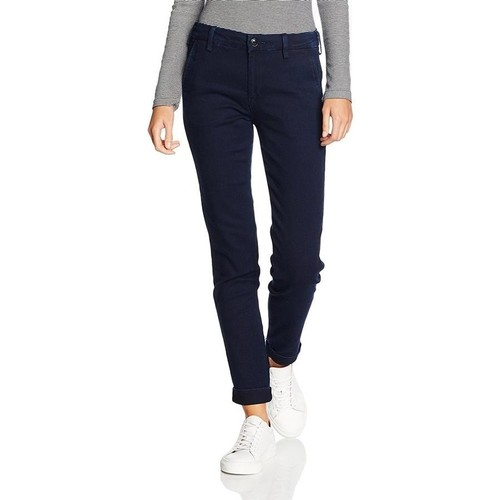 Clothing Women Slim jeans Lee ® Chino Herringbone 310YKMF blue
