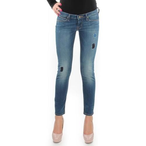 Clothing Women Skinny jeans Lee Lynn Skinny L357DNXA blue