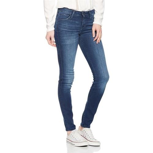 Clothing Women Slim jeans Lee Scarlett Skinny L526AIFB blue
