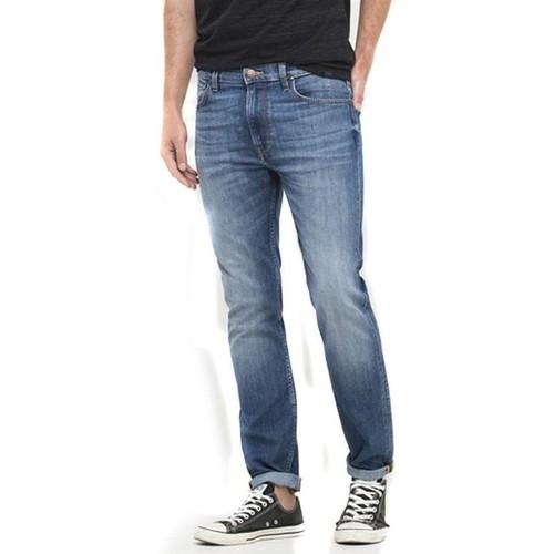 Clothing Women slim jeans Lee Rider L701ACDK blue