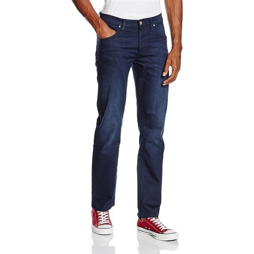 Clothing Men Slim jeans Lee Daren Rergular Blue Shake 706WVDR navy