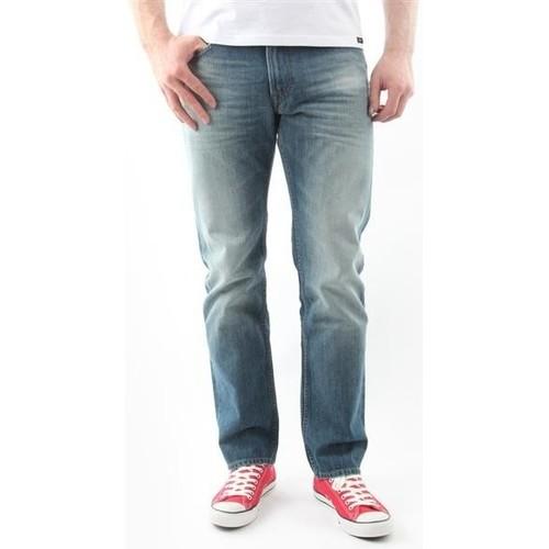 Clothing Men Straight jeans Lee Blake Worn Green L730DAUJ blue