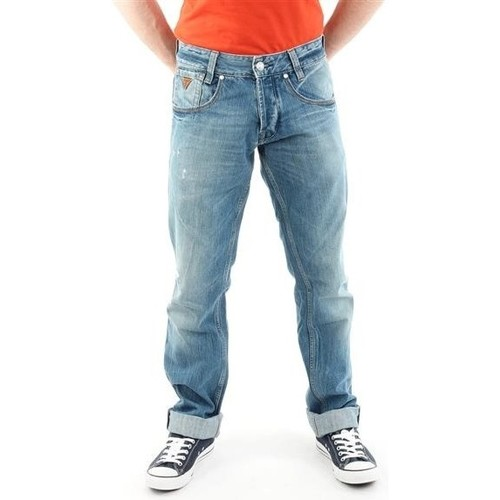 Clothing Men Straight jeans Guess Outlaw M21068D0EY2 STNY blue