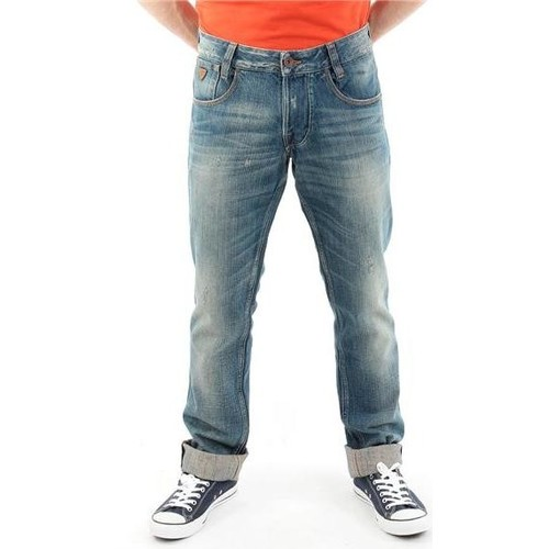 Clothing Men Straight jeans Guess Outlaw M22068D0EW1 LINI blue