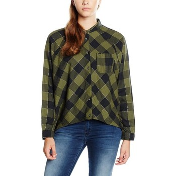 Clothing Women Shirts Wrangler ®  L/S 1pckt Blouse Clover Green 5176C8FR green