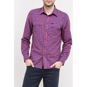 Clothing Men Long-sleeved shirts Lee ® Rider Shirt 851ICSK Multicolor