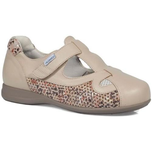 Shoes Women Derby Shoes & Brogues Calzamedi comfortable summer BEIGE