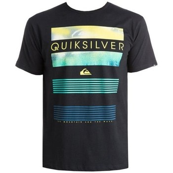 Clothing Men Short-sleeved t-shirts Quiksilver T-shirt   EQYZT03623-KVJ0 black