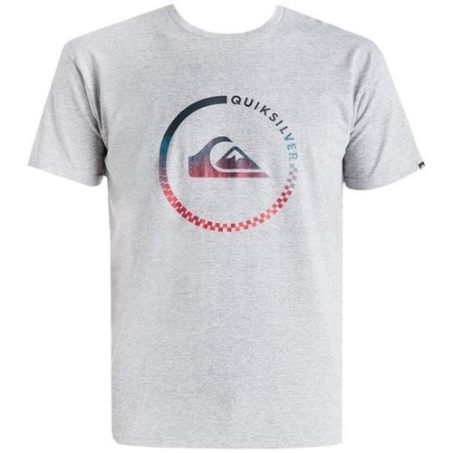 Clothing Men short-sleeved t-shirts Quiksilver T-shirt  EQYZT03623-SGRH grey