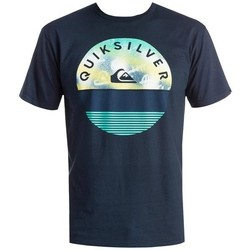 Clothing Men short-sleeved t-shirts Quiksilver T-shirt   EQYZT03629-BYJ0 blue