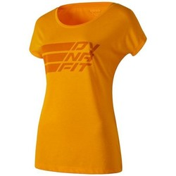 Clothing Women short-sleeved t-shirts Dynafit Compound Dri-Rel Co W S/s Tee 70685-4630 orange