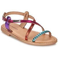 Shoes Girl Sandals Les Tropéziennes par M Belarbi BALADIN Blue / Pink