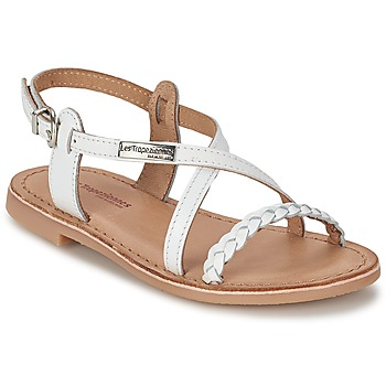 Shoes Girl Sandals Les Tropéziennes par M Belarbi BALADIN White