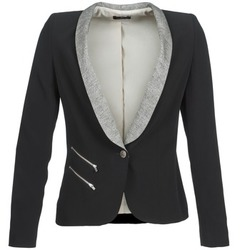 Clothing Women Jackets / Blazers One Step VIOLON Black
