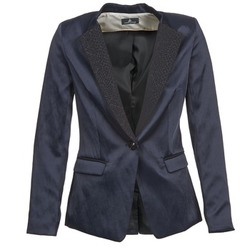 Clothing Women Jackets / Blazers One Step VOICE Marine