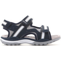 Shoes Children Sandals Geox J Borealis J820RB 01050 C0661 navy , grey, white