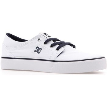 Shoes Children Low top trainers DC Shoes DC Trase TX ADBS300084-WNY white