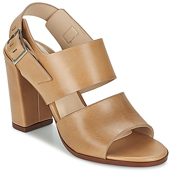 Shoes Women Sandals Dune CUPPED BLOCK HEEL SANDAL Blonde