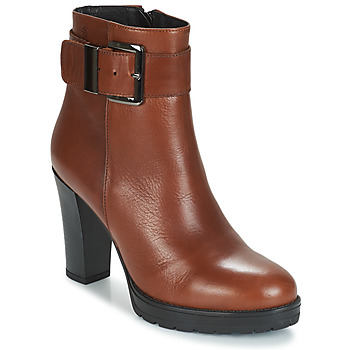 Shoes Women Ankle boots Betty London JARAMBOLE Brown