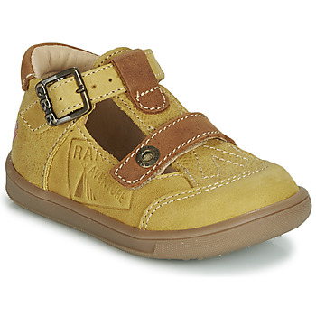Shoes Boy Sandals GBB AREZO Mustard