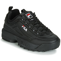 Shoes Women Low top trainers Fila DISRUPTOR LOW WMN Black